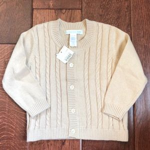 🆕 Pottery Barn Kids Cardigan Sweater, 6-12 months
